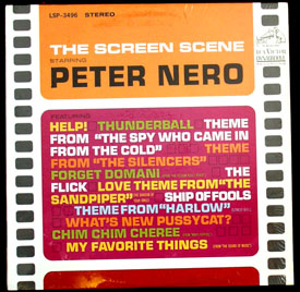Pictured is the Peter Nero LP Screen Scene RCA LSP-3496.
