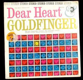 Pictured is the Design LP Great Strings Play Dear Heart Goldfinger DLP-195.