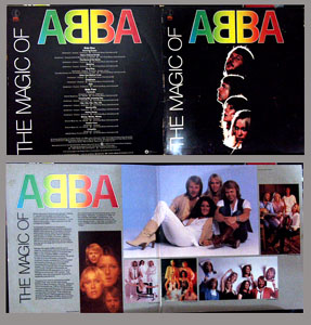 Pictured is the 1980 Gatefold ABBA LP The Magic of ABBA.