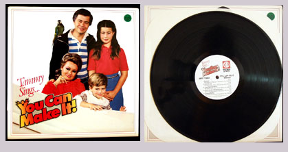 Pictured is the Tammy Bakker LP You Can Make It PTL Club PTL-LP-1827.