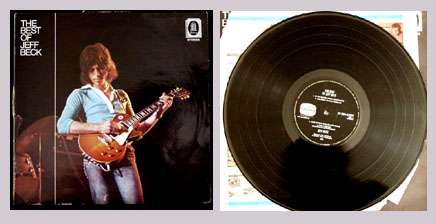 Pictured is a Dutch pressing of the 1971 Jeff Beck Group LP The Best of Jeff Beck EMI 5C054-92207.